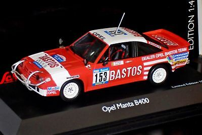 OPEL Manta B 400 Rallye Paris Dakar Raid 1984 #153 Colsoul Bastos Team IXO 1:43