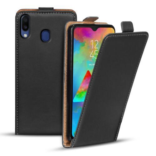 Flip case Samsung Galaxy m20 funda móvil cartera funda plegable funda protección funda protectora