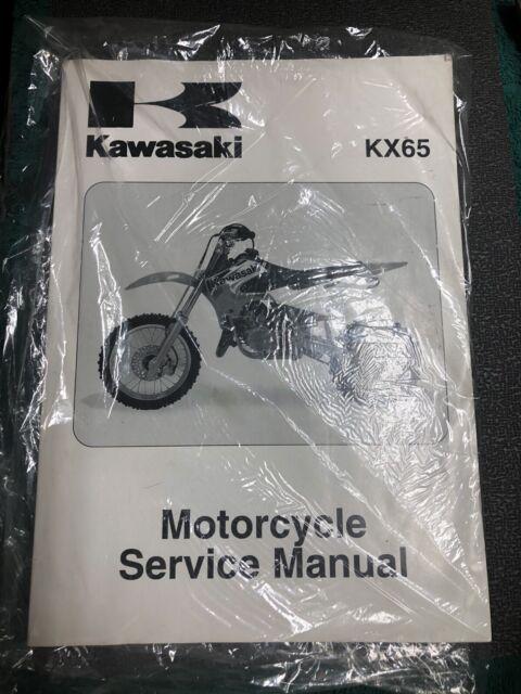 New Kawasaki Kx65 2000