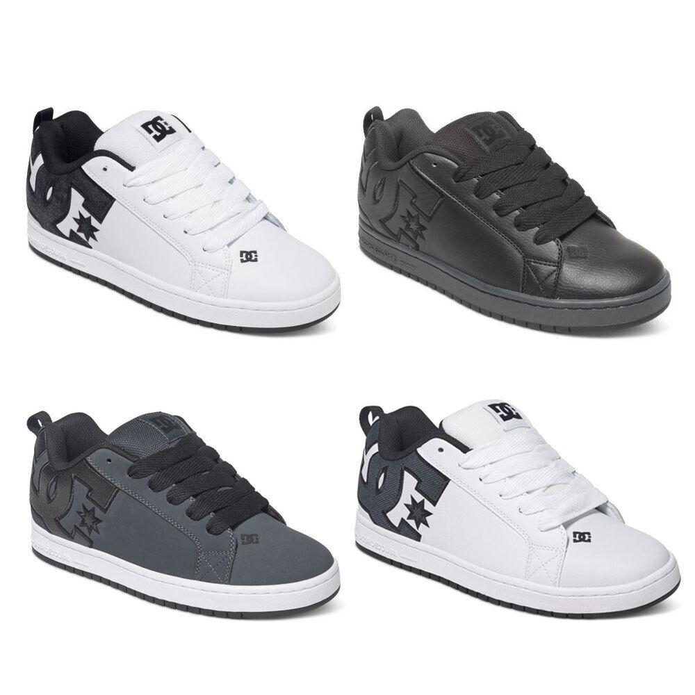 DC Shoes Court Graffik SE Herren Low Cut Sneaker Sneaker Sneaker vulkanisiert Skate Schuhe NEU fa3306