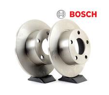 2x BOSCH Rear Brake Discs Solid 267mm for CITROEN C4 BERLINGO DS5 0 986 479 383