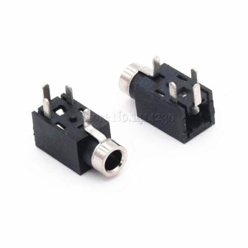 3 Stück 2,5 mm Audio-Buchse 4-polig DIP-Kopfhörerbuchse Buchse PJ-210B