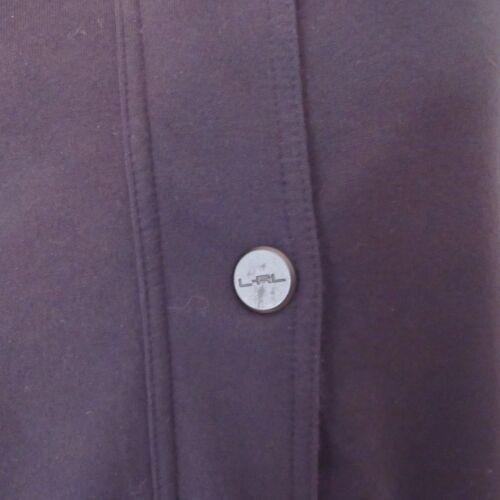 Hoodie Active Lauren Ralph Athletic Black Lrl Jacket Purple Size Womens Xl gCTxUwqdSx