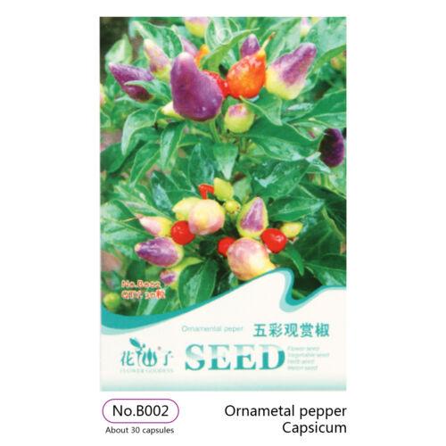 6x Fruit Seeds Vegetable Seed Grows Bonsai Non-GMO Plants Garden Sweet Delicious