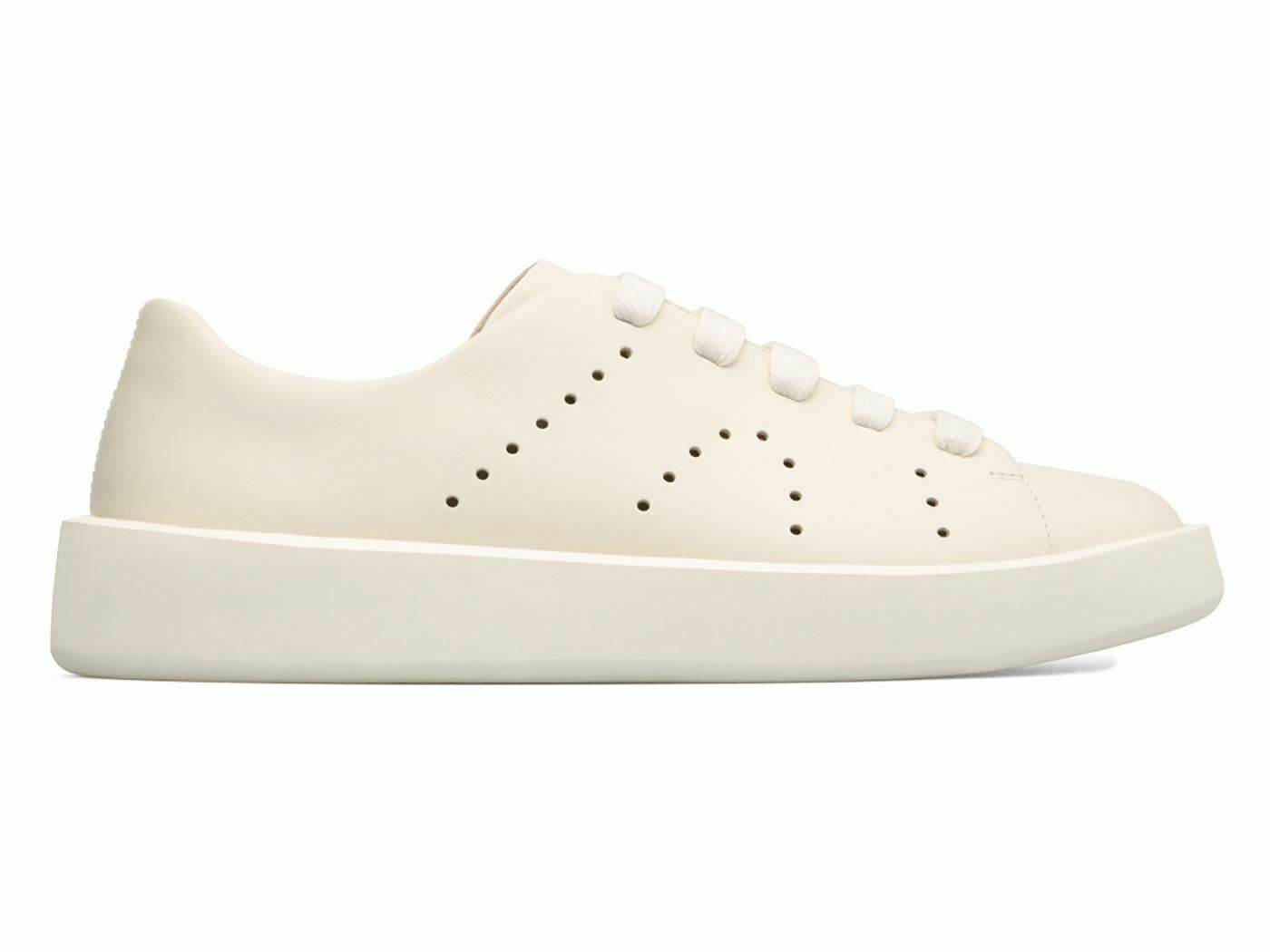CAMPER K100432-001 COURB baskets hommes IN PELLE blanc CREMA MainApps