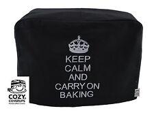 Cozycoverup for Kenwood Prospero Food Mixer Keep Calm ..Baking Black Dust Cover