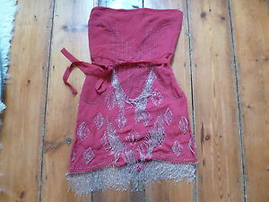KATE-MOSS-RED-BANDEAU-DRESS-8-20s-beaded-amp-fringing-TOPSHOP