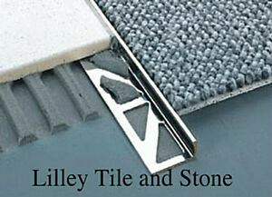 Image Is Loading Stainless Steel Square Edge Tile Trim 2 30mm