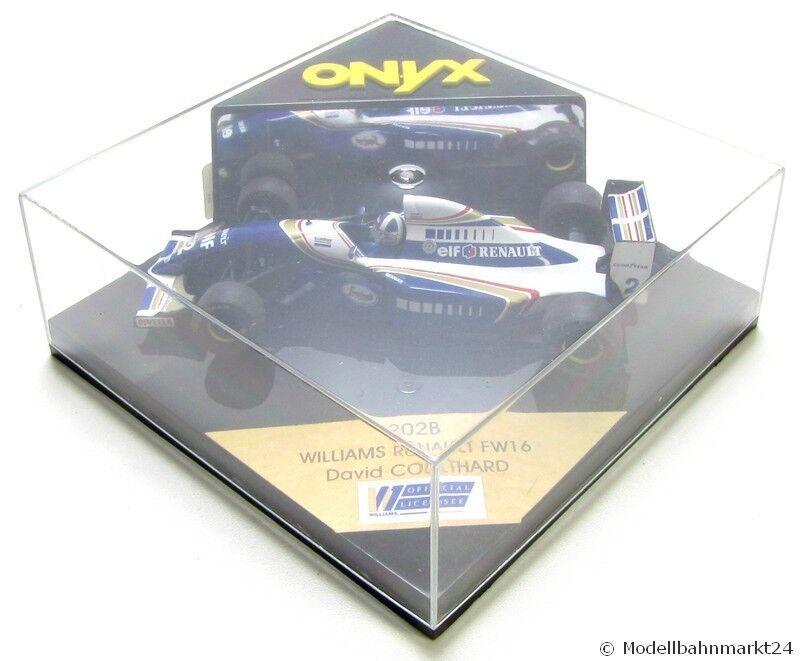 ONYX 202B Williams Renault FW16 David Coulthard - OVP