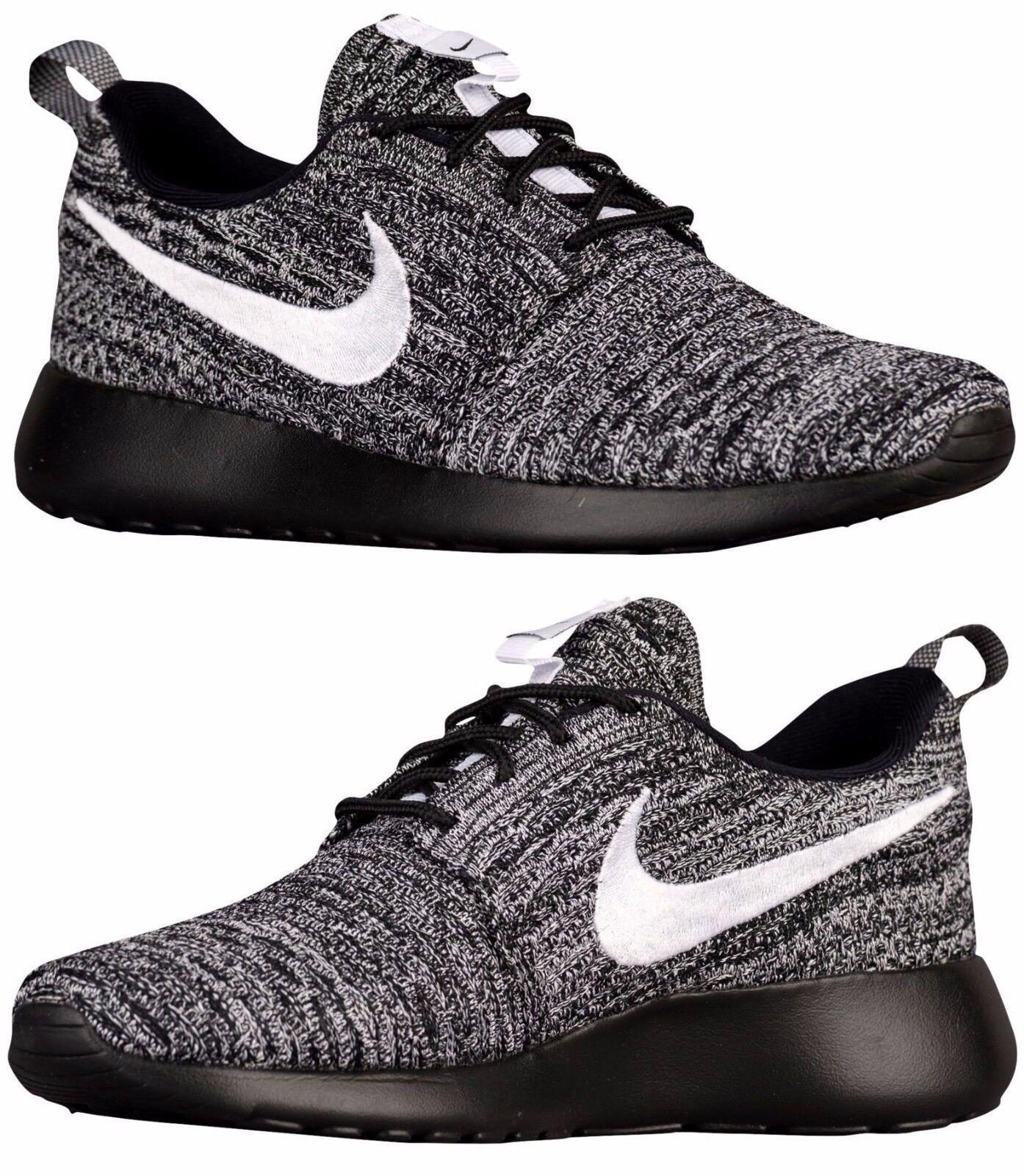 Nike para correr informales de mujer de un un un Flyknit Malla Negro-blancoo Auténtico Nuevo  hasta 60% de descuento