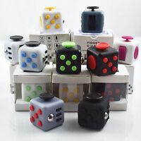 UK Fidget Cube Vinyl Desk Toy Children Desk Toy Adults Stress Relief Cubes ADHD