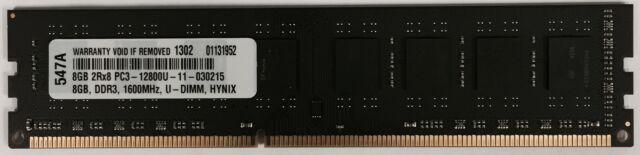 8GB MEMORY MODULES FOR Gigabyte Technology GA-H61M-DS2