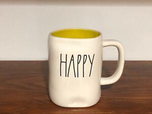 Rae-Dunn-Artisan-Collection-By-Magenta-LL-HAPPY-Yellow-Interior-Farmhouse-Mug