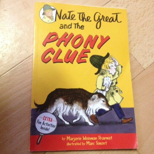 1 of 1 - MAJORIE WEINMAN SHARMAT, NATE THE GREAT AND THE PHONY CLUE