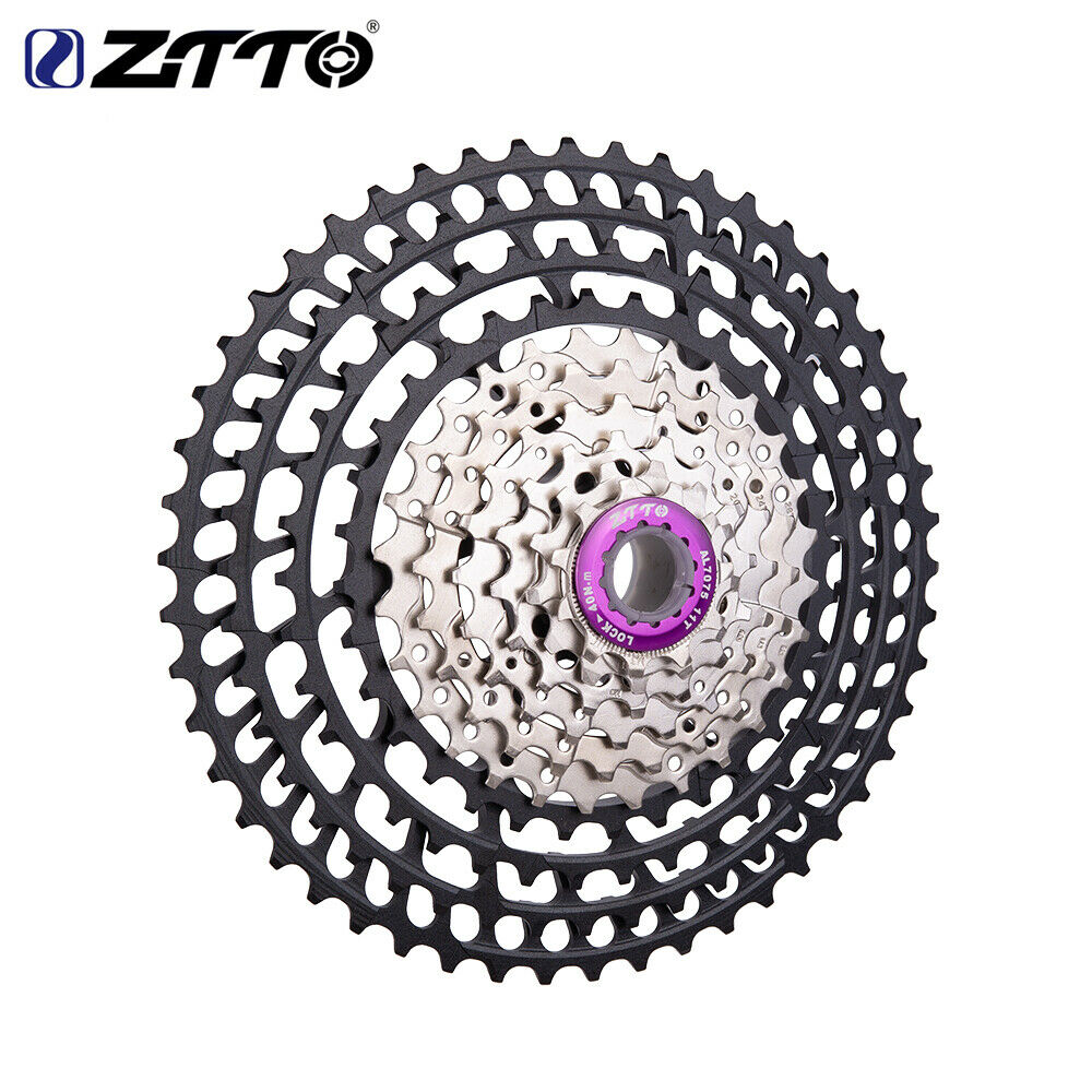 ZTTO Bicicleta de Montaña Bici 10 velocidad 11-50T Casete rueda Libre Bicicleta Ruedas Dentadas para SHIMANO HG