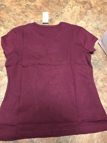 NWT THE CHILDRENS PLACE Girls Purple Shirt L 10//12