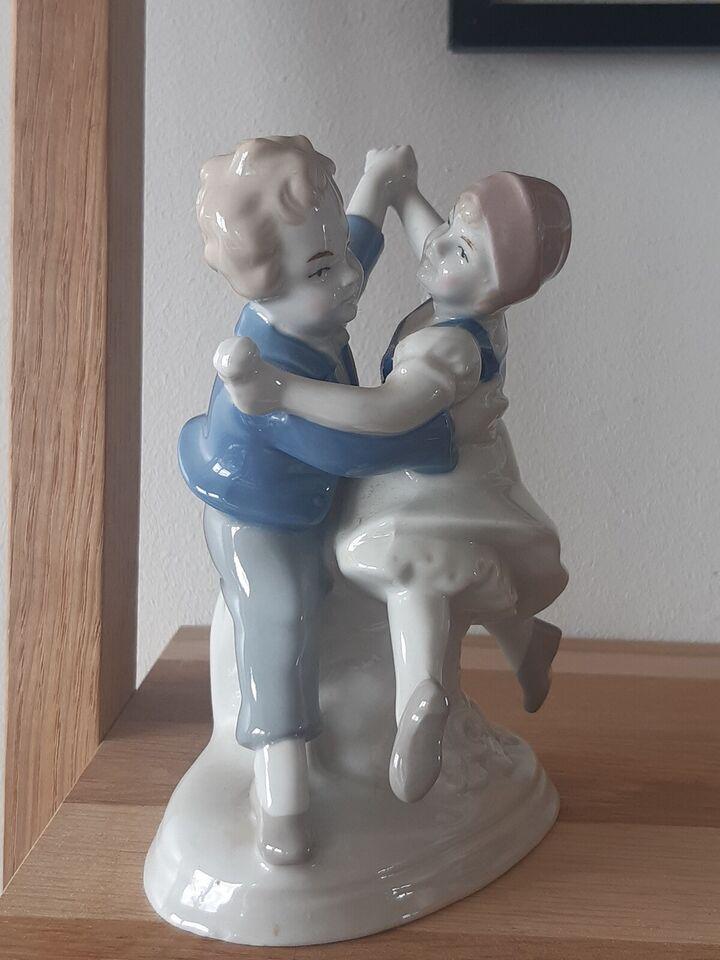Dansende par, Wagner & Appel tysk porcelæn, 1950