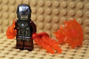 LEGO Super Heroes Figur Minifigur Rüstung Anzug 76166 Iron Man Blazer Armor