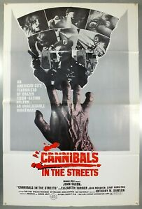 CANNIBALS IN THE STREETS MOVIE POSTER John Saxon NEW