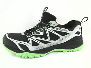 Image is loading MERRELL-Hiking-Shoes-CAPRA-BOLT-Sneakers-Black-Silver- 4e98286cf