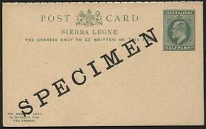Sierra Leone - H&G 9 - KEVII - Specimen