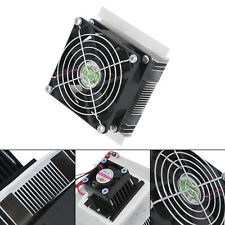 60w Semiconductor Refrigeration Thermoelectric Peltier Cooler Heatsink DC Kit