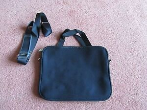 Black-12-034-Neoprene-Soft-Sleeve-Laptop-Bag-with-handle-and-strap