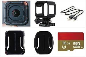 Gebrauchte-GoPro-Hero-Session-1440p-1080p-wasserdichte-Action-Kamera-Camcorder-16g-Karte