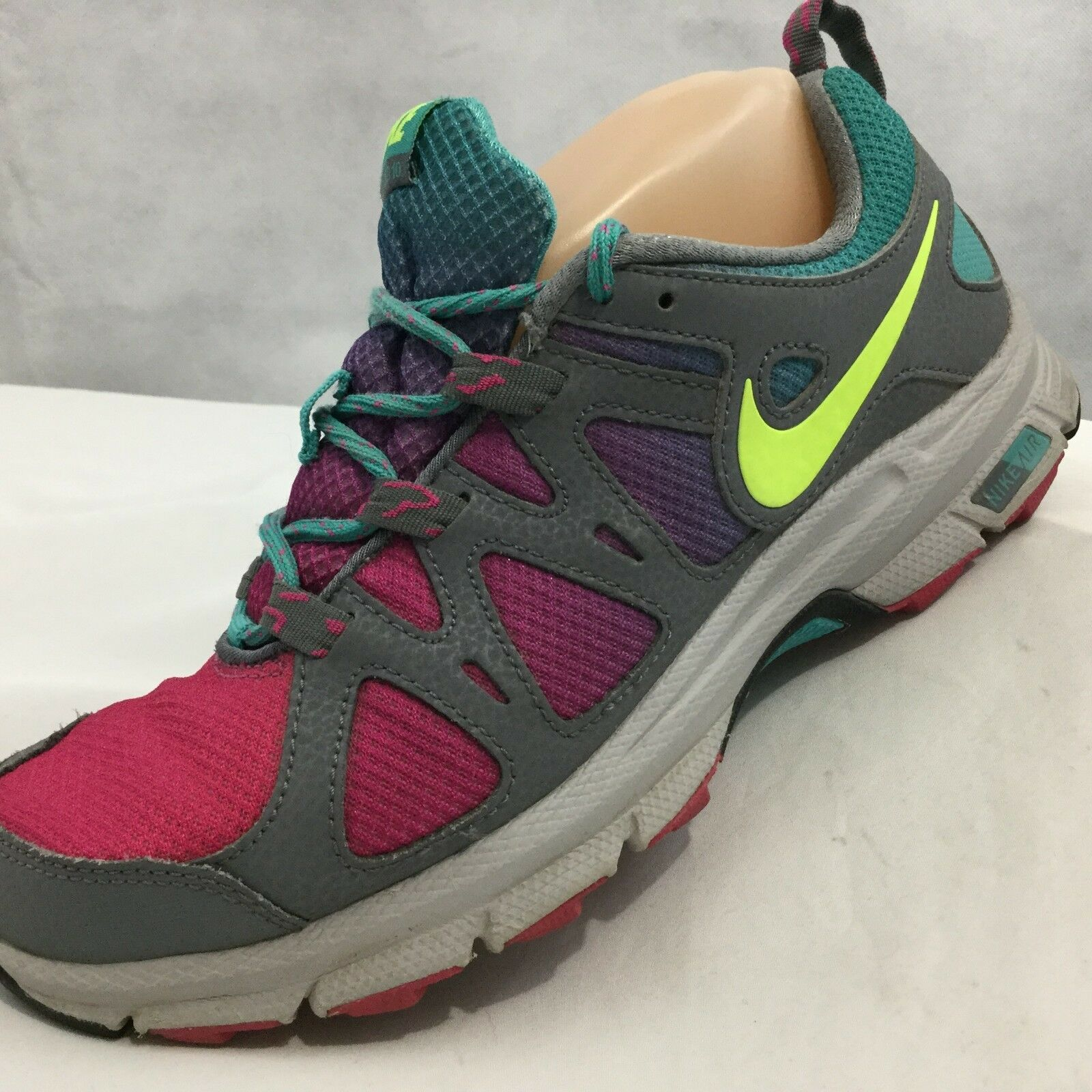 Seasonal price cuts, discount benefits Nike Air Alvord 10 Trail Running Sneakers Sz 8.5 Pink Gray Blue Hiking Walking