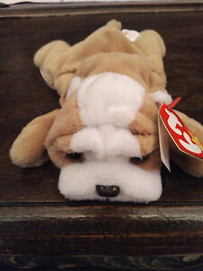 Beanie Babies Retired WRINKLES: Born 5-1-96 With Tag Errors