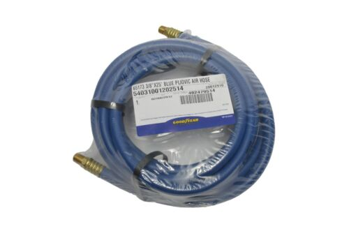 """GOODYEAR AIR HOSE #65173 25 foot 3//8/"""" NEW Compressor Rubber Made In The USA"""