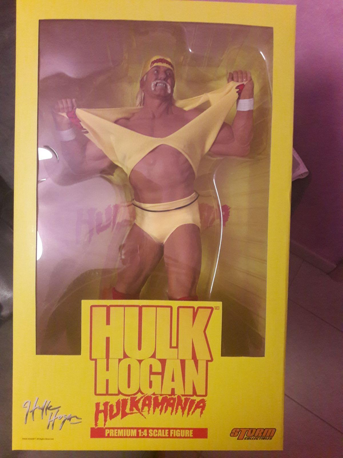 Storm Collectibles HULK HOGAN Hulkamania Premium 1:4 Scale Figure WRESTLING 48cm