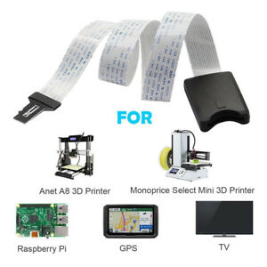Micro-TF-SD-To-SD-Card-Extension-Adapter-Cable-Flexible-Extender-For-Car