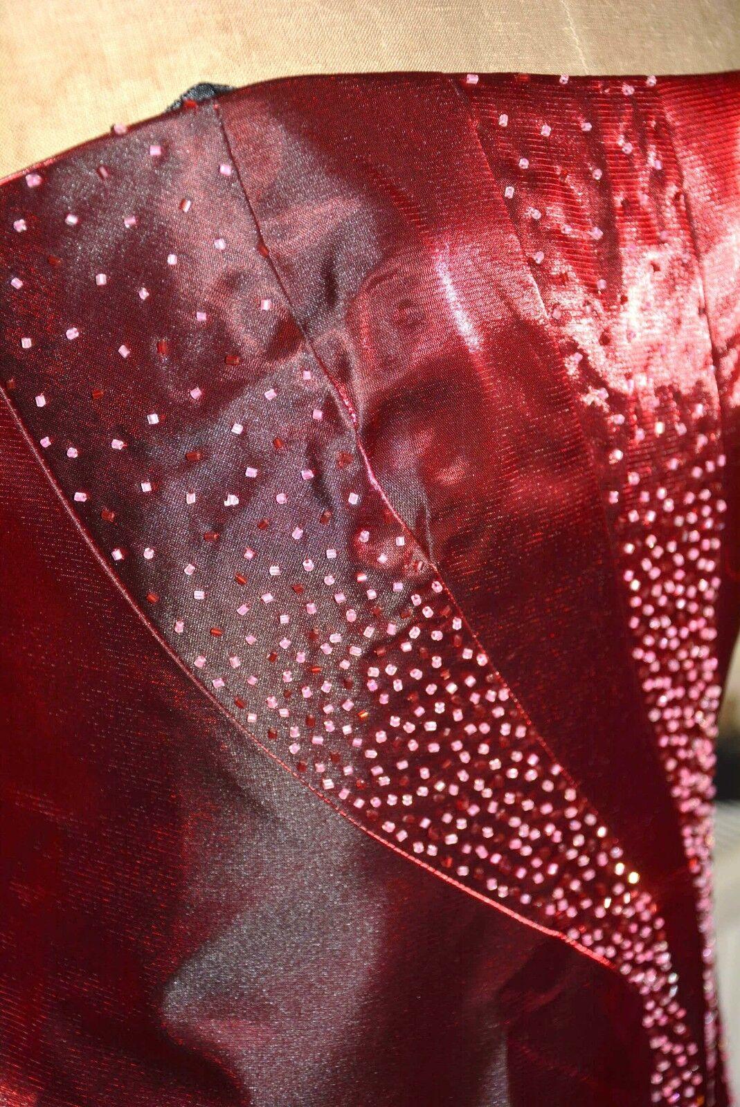 NUOVA incredibile Abito da ballo Abito da da da sera ballo party crociera Taglia 10 con Perline SPECIALI OC 56f4c4