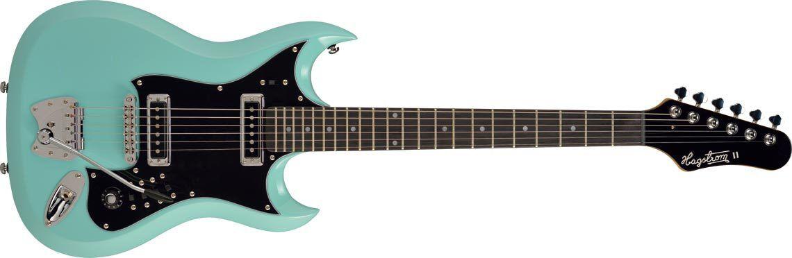 Hagstrom H-Guitarra de de de cielo azul II e605d1
