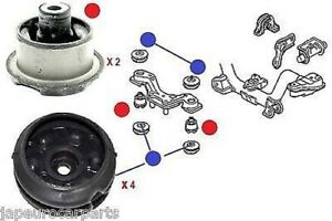 For Honda Civic CR-V Stream Rear Diff Differential Top Support Arm Mount Bush