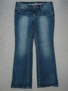 QG05433-MAURICES-BOOT-CUT-WOMENS-JEANS-36x32-NICE-JEANS