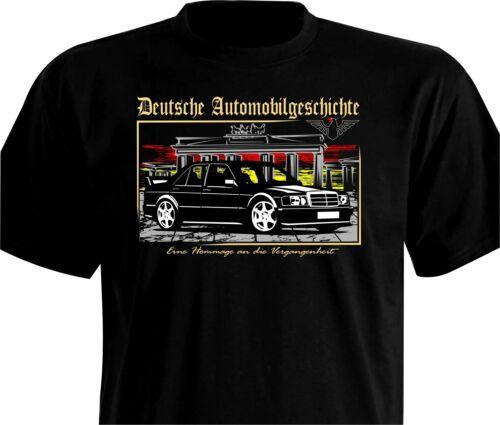 T-Shirt Color DAG Oldtimer 190 EVO 1982-1988 W201 2.0-2.5 Liter Mercedes