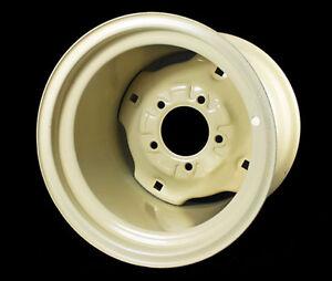 One 10.5x12-6 Bolt  Lawn Garden Tractor Rim Wheel fits 26x12.00-12 Tires