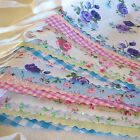 Fabric Bunting Wedding Fete Country Floral Vintage Shabby Chic 10ft/20ft/30/40ft