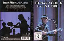 Leonard Cohen - DVD - Live In London 2008 - DVD von 2009 - Neuwertig !