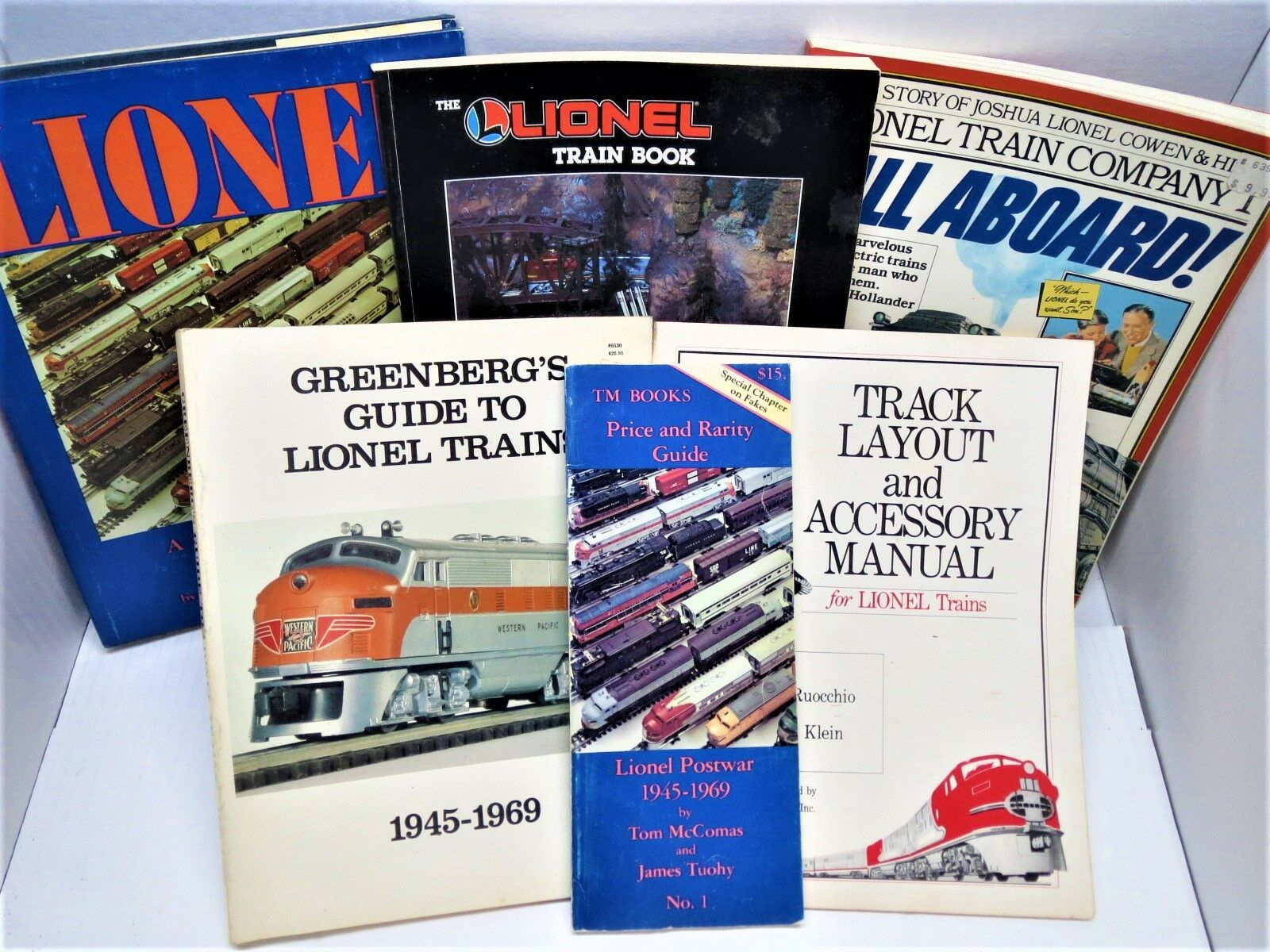 Lionel Collection of 6 Highly Informative & Best Lionel Books to have