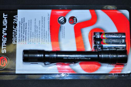 Streamlight 88033 ProTac 2AA Tactical LED Flashlight 155 Lumens Black