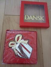 DANSK NEIL COHEN PRESENT GIFT CHRISTMAS ORNAMENT NEIL COHEN GOLD SILVER NICE IOB