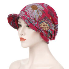 49e8cb07ecccd item 1 New Women Cotton Print Open Top Messy Bun Ponytail Knit Visor Beanie  Skull Hat -New Women Cotton Print Open Top Messy Bun Ponytail Knit Visor  Beanie ...