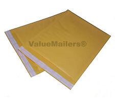 100 5 Vm Terminator Kraft Bubble Mailers Envelopes 105x16 Amp 500 9x12 Bags