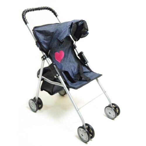 My First Doll Stroller Denim for Baby Doll