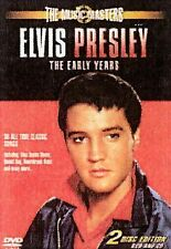 Elvis Presley: The Music Masters:The Early Years, 2 Disc set DVD & CD  21 songs