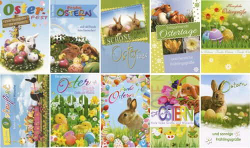 50 Osterkarten Glückwunschkarten Ostern Grusskarten Osterkarte 132650 TA