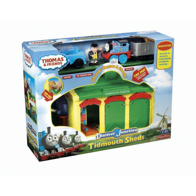 Thomas die Lokomotive  Tidmouth Sheds Spielset von Fisher Price mit Bonus